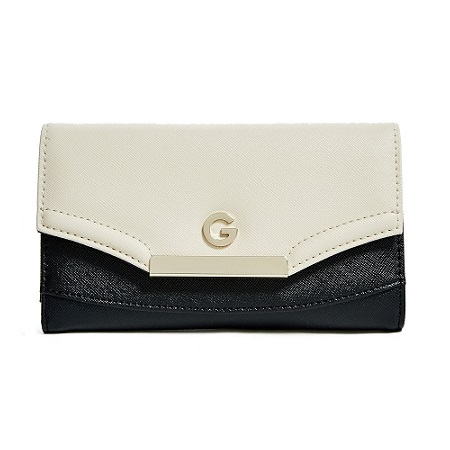 G by GUESS Womens Carly Slim Wallet